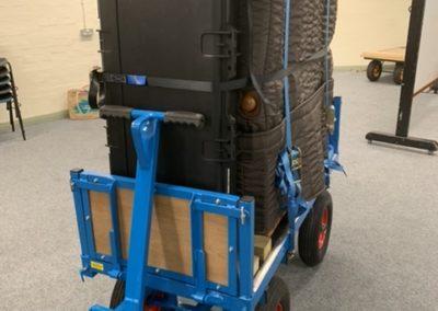 Electric Organ Transport Trolley