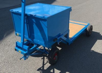 bouncy castle trolley with storage box